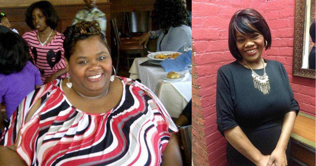 Deze moeder volgde drie eenvoudige regels en verloor 110 kilo