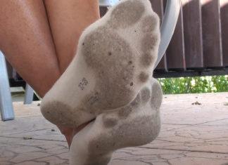 vieze sokken