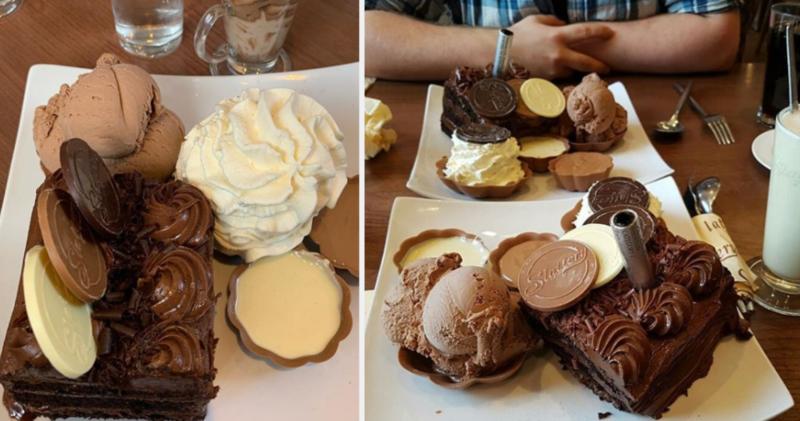 Slechts 3% van de mensen heeft deze enorme chocolade-uitdaging voltooid
