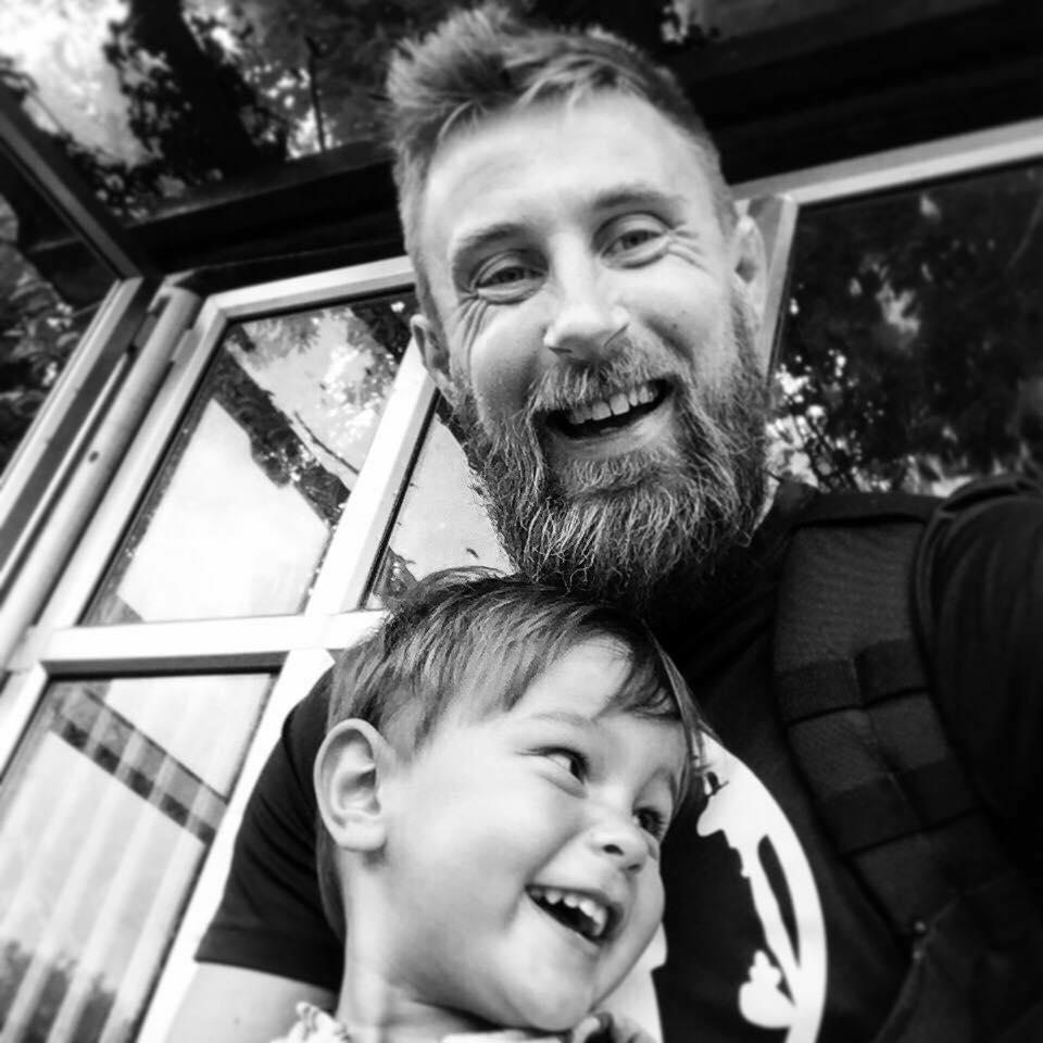 Man deelt laatste foto's met zoon