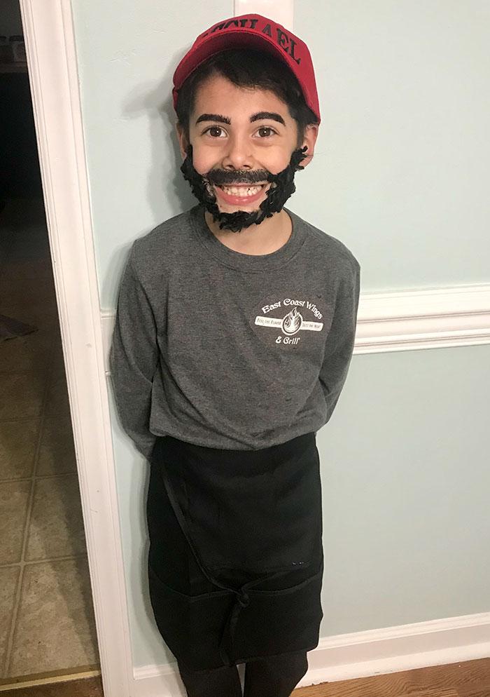 jongens verkleed halloween