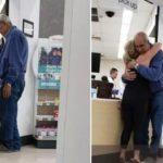 Vrouw legt vast hoe oude man niet voor zijn medicatie kan betalen - tot vreemdeling in actie komt