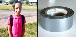 10-jarig meisje vernederd in klas nadat lerares haar mond dichtplakte met tape