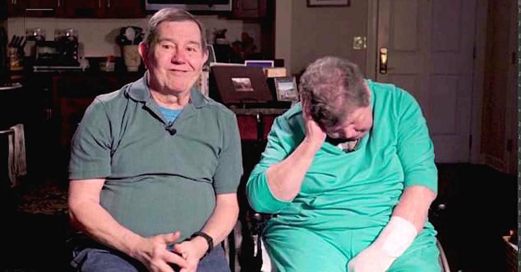 Man weigert vrouw in verzorgingshuis te plaatsen - reizen samen de wereld rond 28 jaar lang