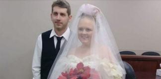 Jeugdliefdes sterven samen vijf minuten na het uitwisselen van hun huwelijksgeloften