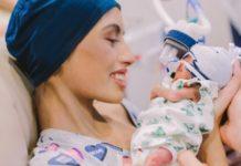 Tienermoeder koos zoon's geboorte boven kankerbehandelingen, sterft maanden na bevalling