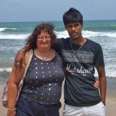vrouw met sri lankaanse toyboy