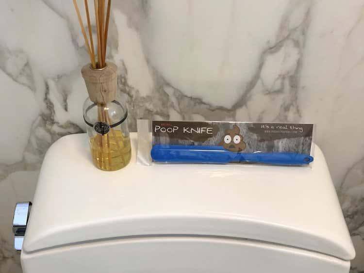 poepmes voor op de wc