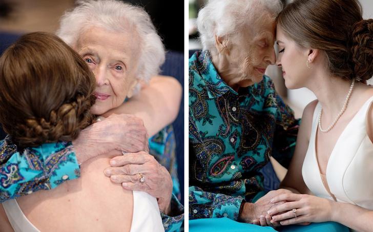 knuffel van oma en bruid