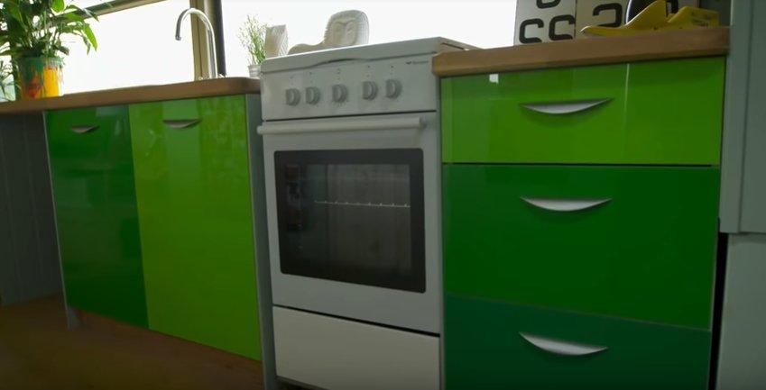 keuken in dubbeldekker