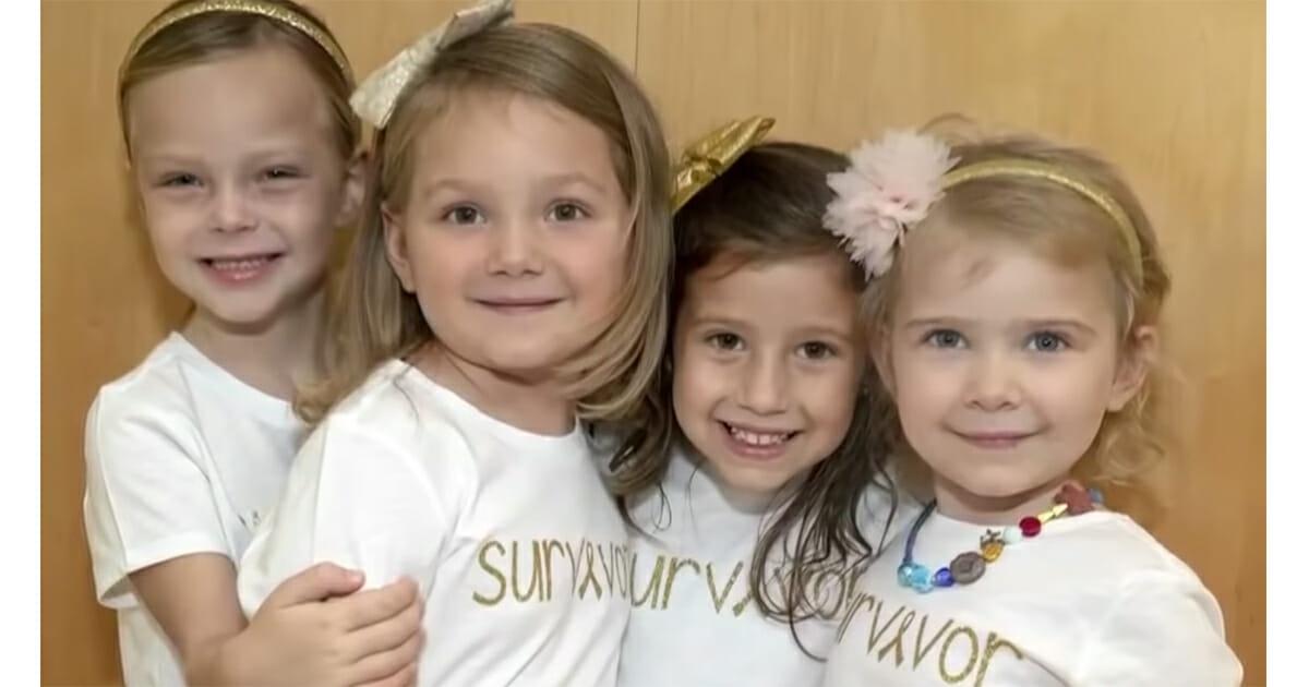 4 meisjes overleven kanker