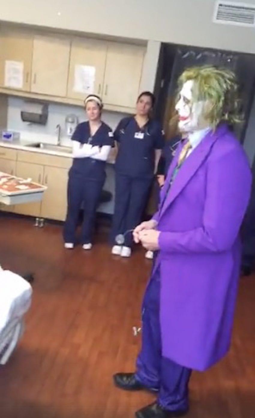 dokter als the joker