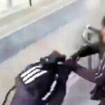 VIDEO: Tiener wordt van trap geschopt op station Kortrijk