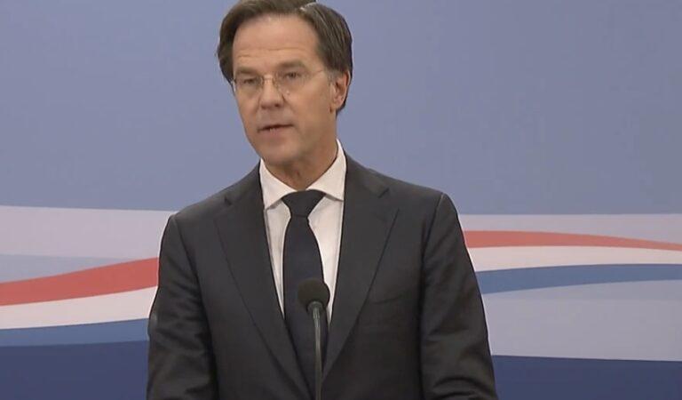 LIVE: de verklaring van premier Rutte vanuit het ministerie van Algemene Zaken