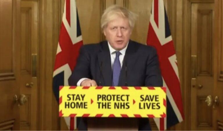 Het Verenigd Koninkrijk heeft alle grenzen volledig dichtgegooid