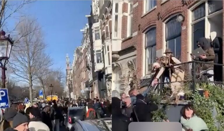 Flink wat ophef over gigantisch feest in Amsterdam wat gister plaatsvond