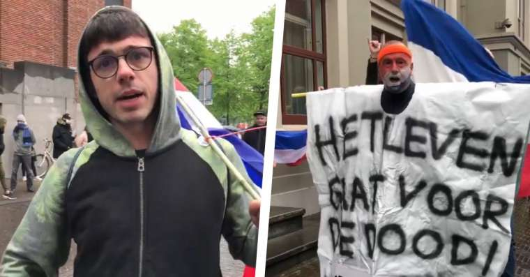 Live: Wederom demonstraties op Museumplein